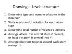drawing a lewis structure