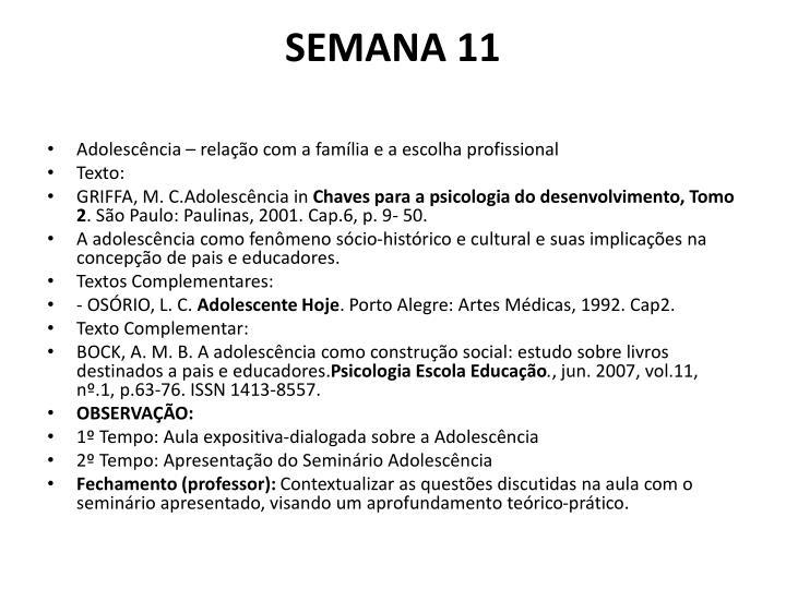SEMANA 11