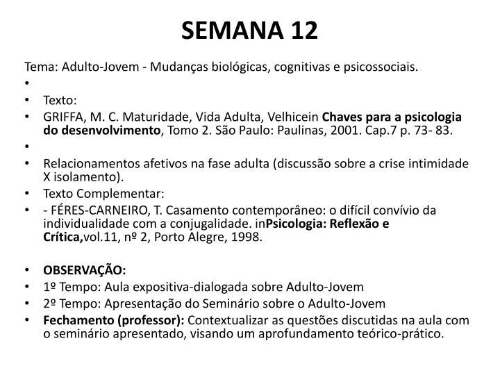 SEMANA 12