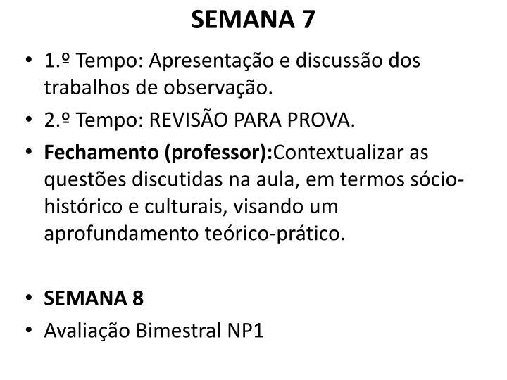 SEMANA 7