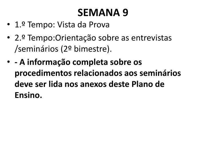 SEMANA 9