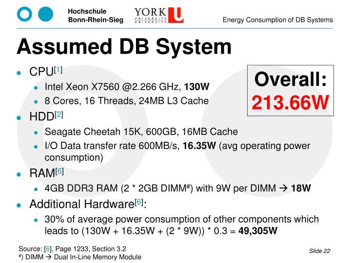 Assumed DB System