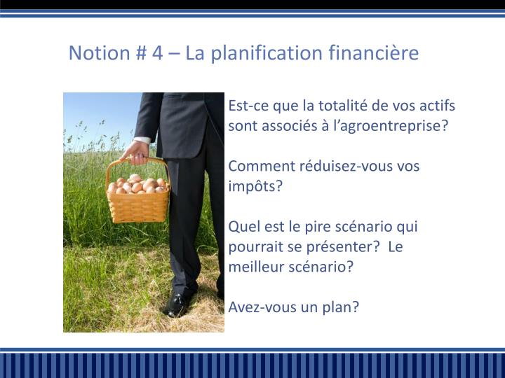 Notion # 4 – La