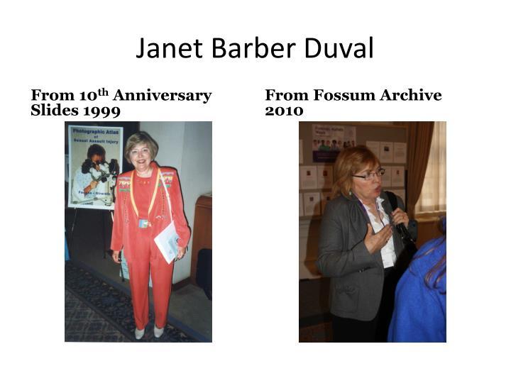 Janet Barber Duval