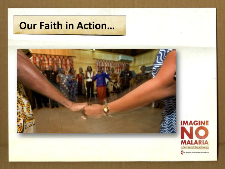 Our faith in action