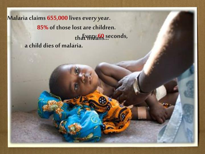 Malaria claims