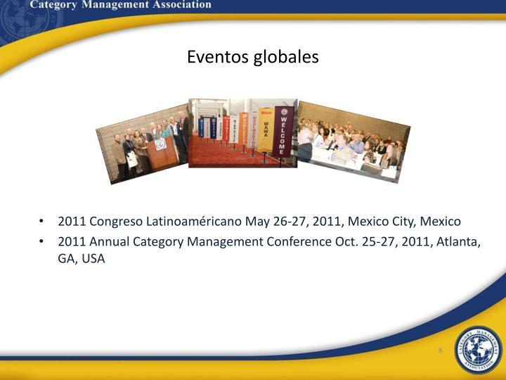 Eventos globales