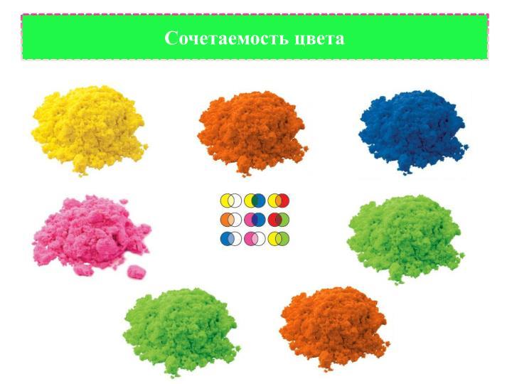 Сочетаемость цвета