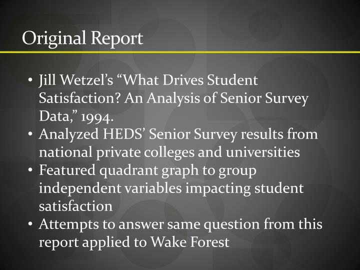 Original Report