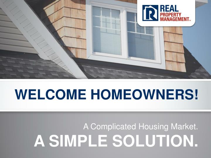 welcome homeowners