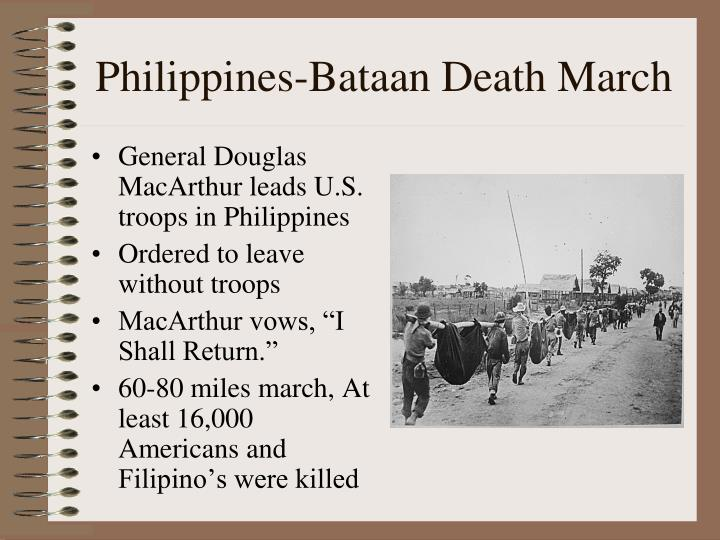 Philippines bataan death march