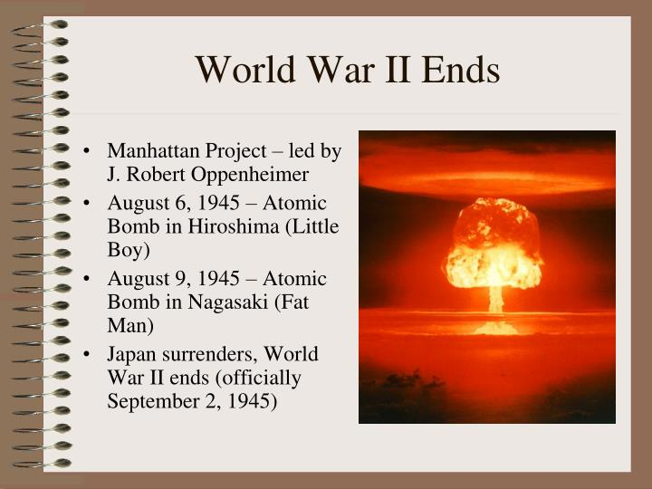 World War II Ends