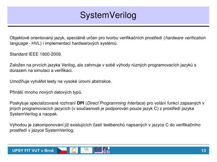 SystemVerilog