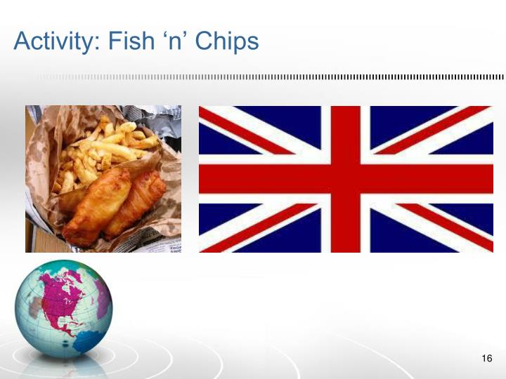 Activity: Fish 'n' Chips