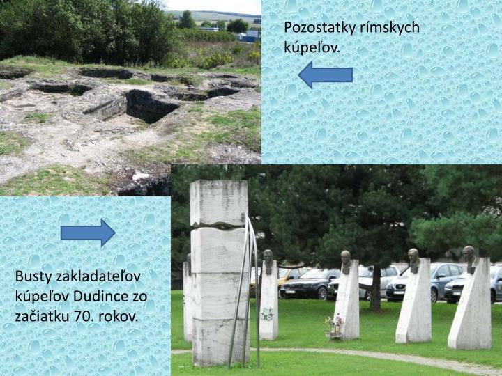 Pozostatky rímskych