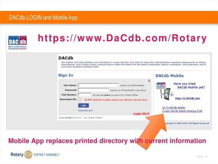DACdb