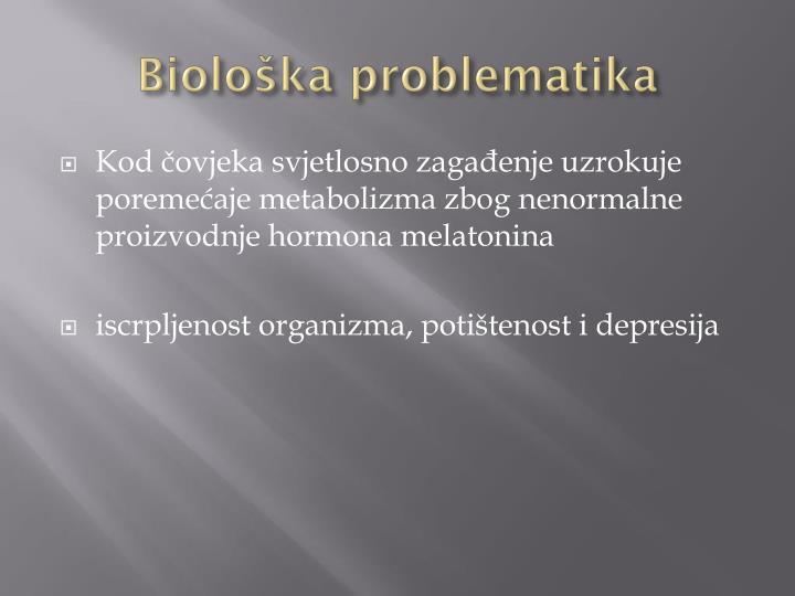 Biološka problematika