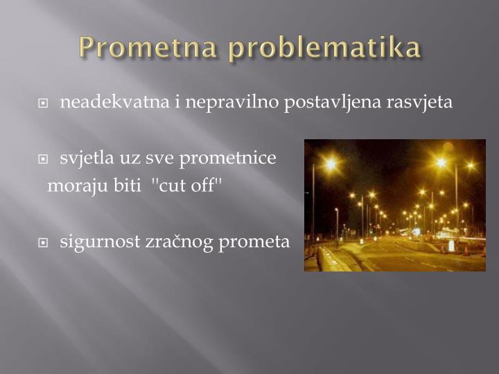 Prometna problematika