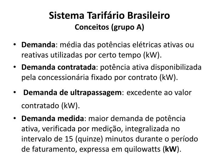 Sistema Tarifário Brasileiro