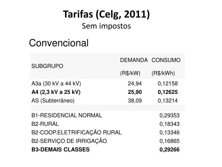 Tarifas (