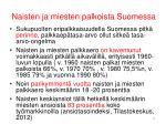 naisten ja miesten palkoista suomessa