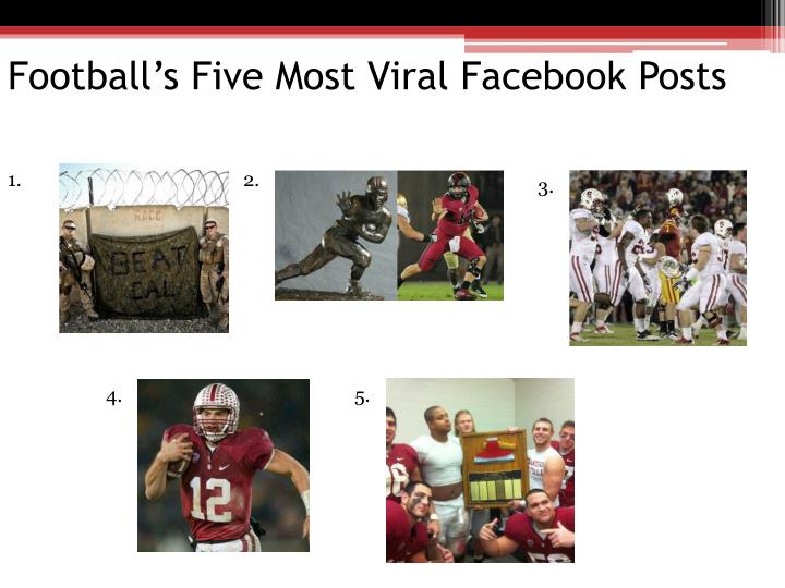 Football's Five Most Viral