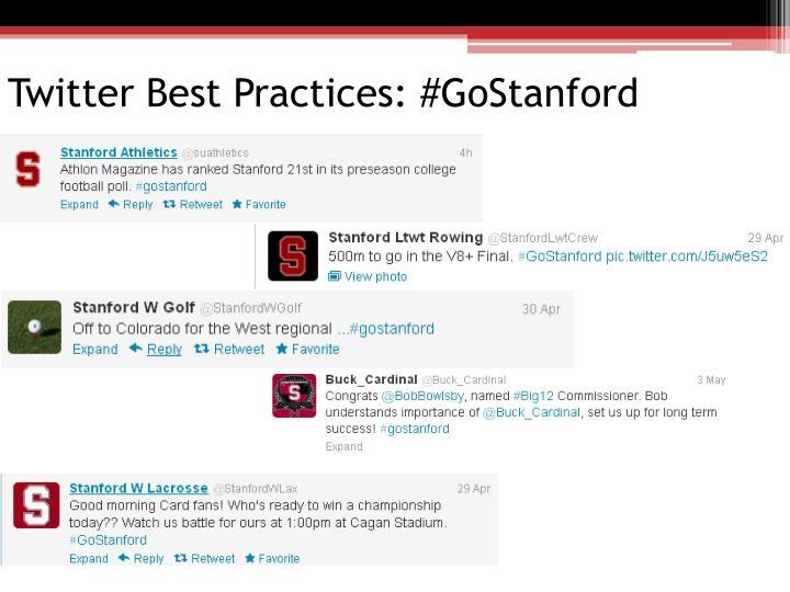 Twitter Best Practices: #