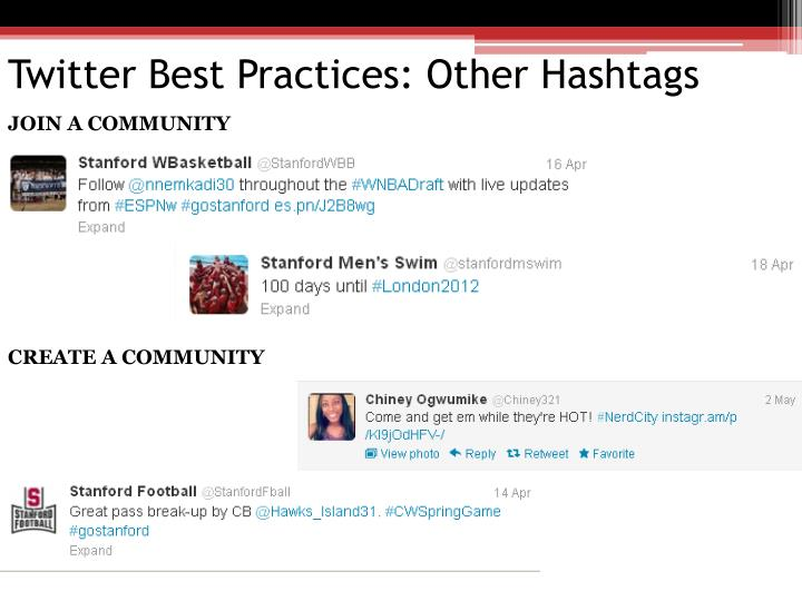 Twitter Best Practices: Other