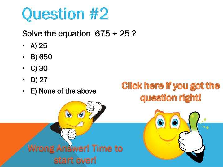 Question #2