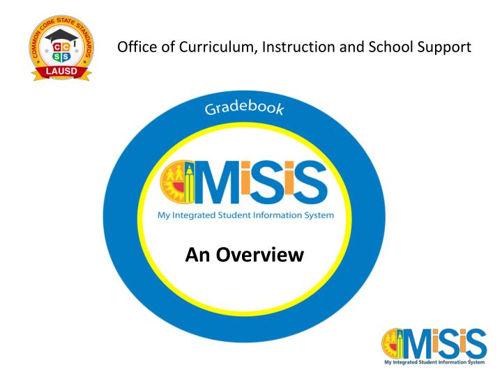 Office of curriculum instruction and school support
