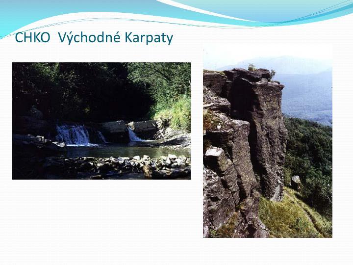 CHKO  Východné Karpaty