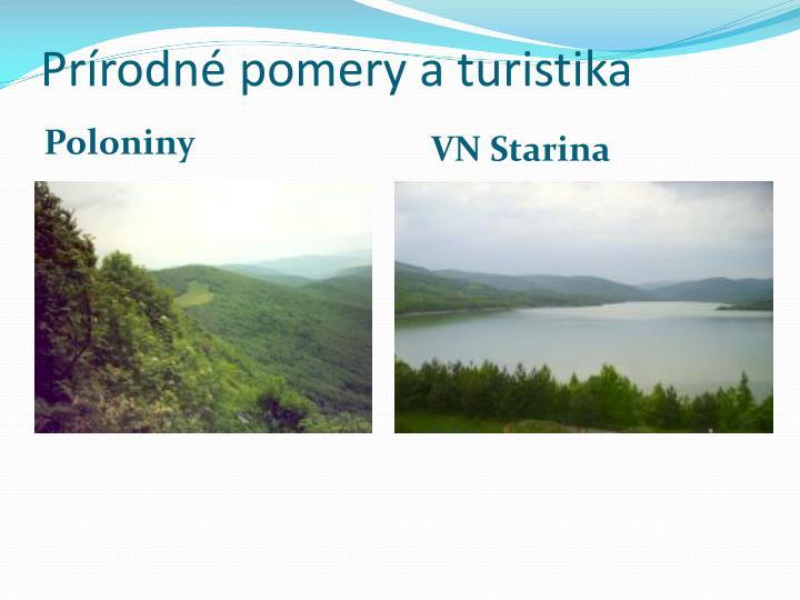 Prírodné pomery a turistika