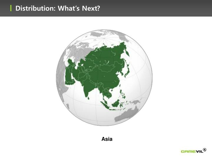 Distribution: What's Next?