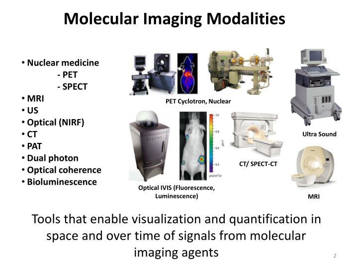 Molecular Imaging Modalities