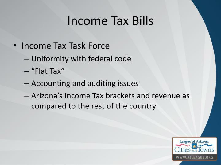 Income Tax Bills