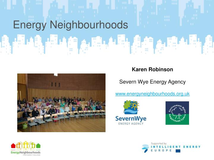 Energy Neighbourhoods