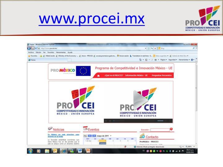 www.procei.mx
