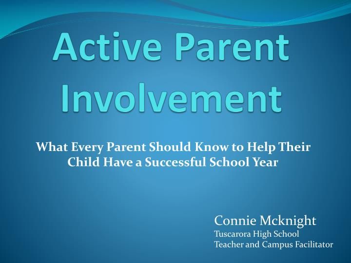 the importance of parents involvement in their childrens activities
