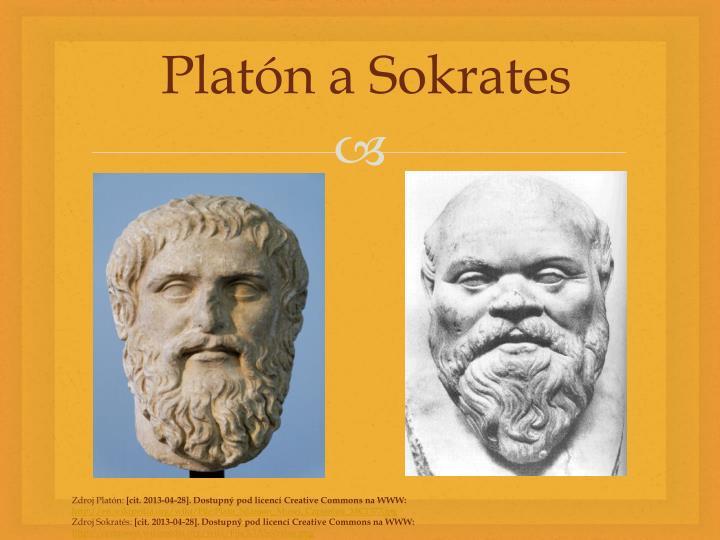 Platón a Sokrates