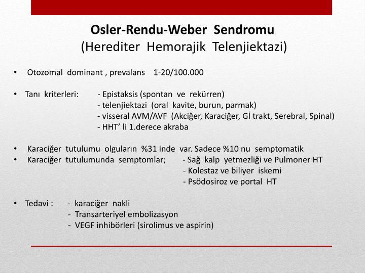 Osler-Rendu-Weber