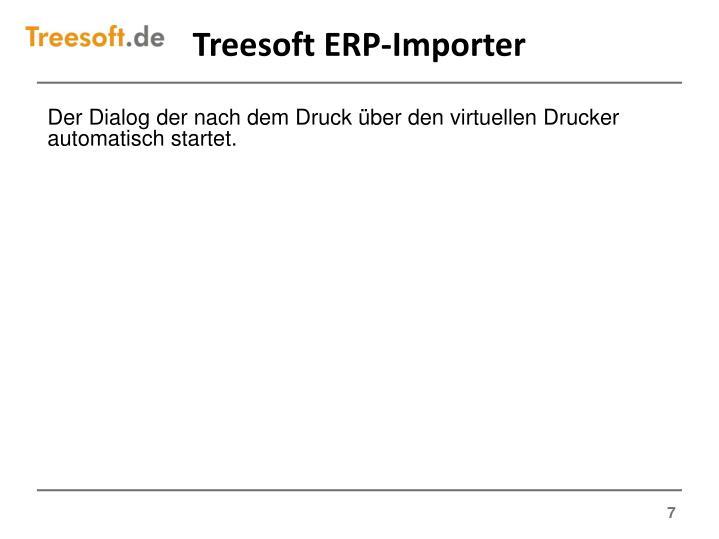 Treesoft ERP-Importer