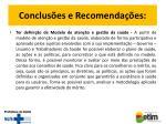 conclus es e recomenda es1