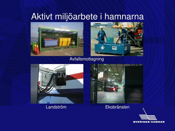 Aktivt miljöarbete i hamnarna