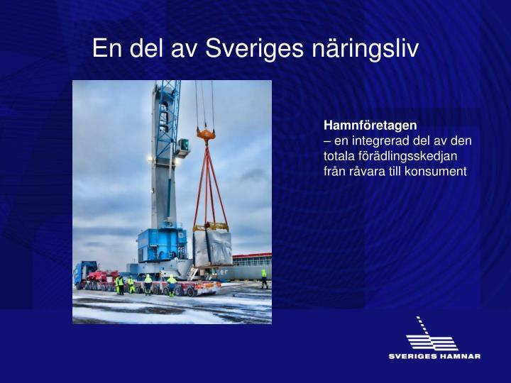 En del av Sveriges näringsliv