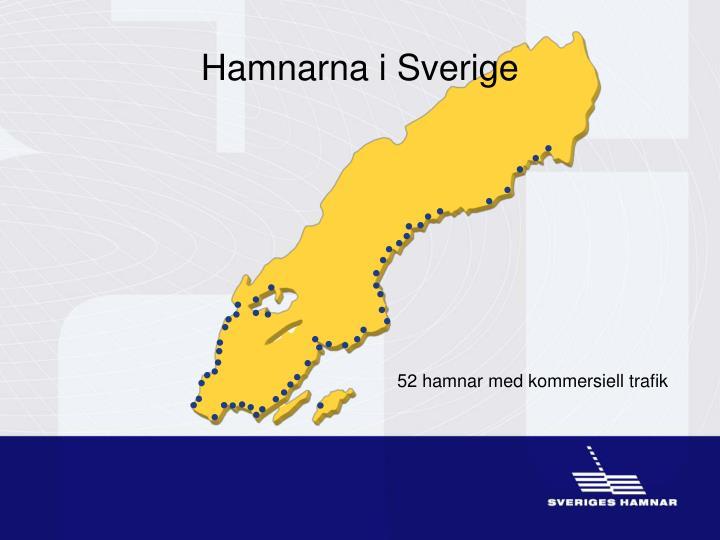 Hamnarna i Sverige