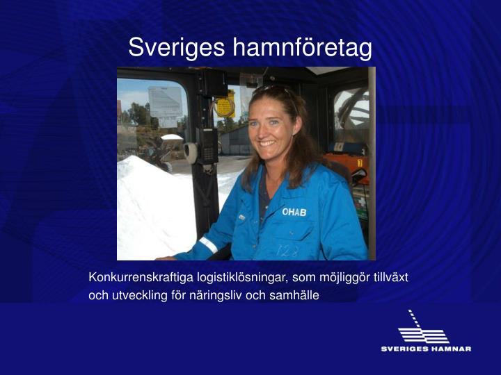 Sveriges hamnföretag