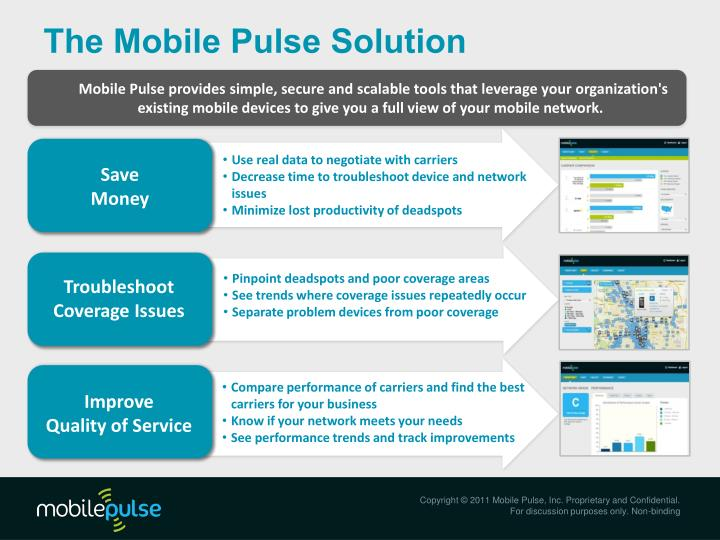 The Mobile Pulse Solution