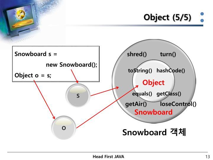 Object (5/5)