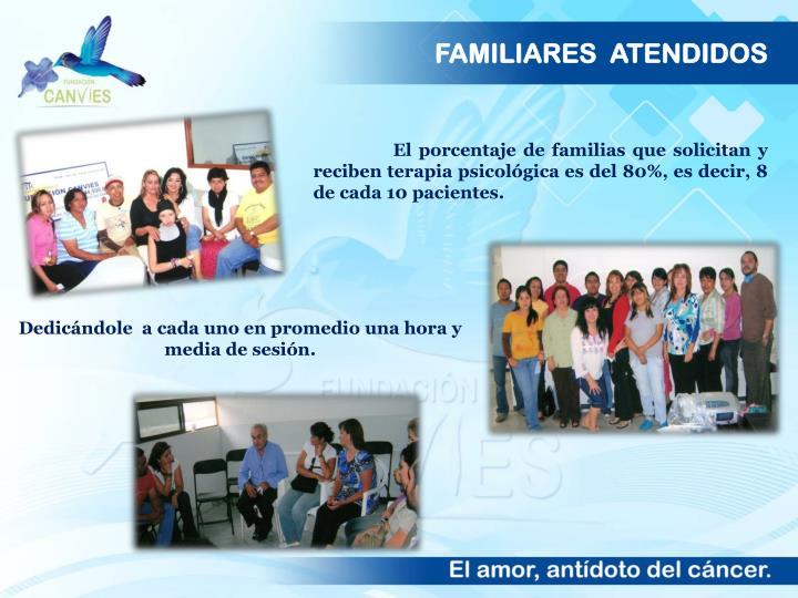 FAMILIARES  ATENDIDOS