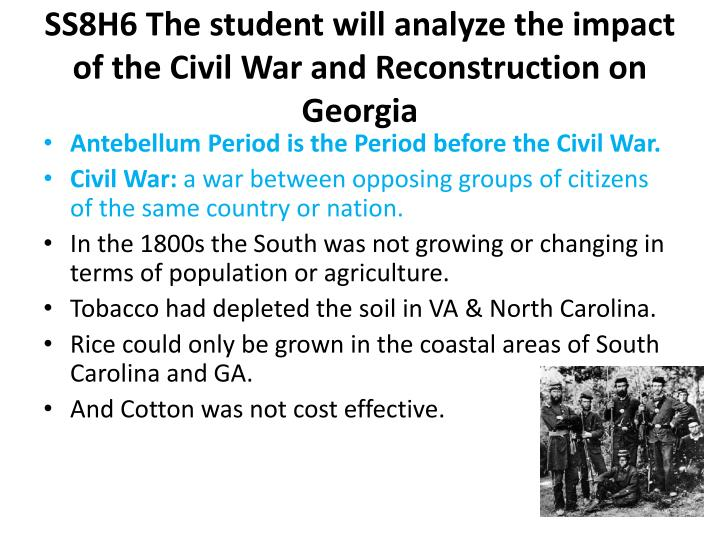 the success of reconstruction after the civil war Success of reconstruction reconstruction was the time period following the civil war, which lasted from 1865 to 1877, in which the united states began to rebuild.